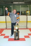DON THE REF WITH TROPHY